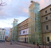The Reina Sofia Museum. Madrid Royalty Free Stock Photography