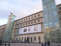 The Reina Sofia Museum. Madrid Stock Images