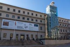 Reina Sofia National Art Center Museum Museo Nacional Centro de Arte Reina SofÃa in der Stadt von MA lizenzfreies stockbild