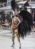 Reina Veronica Bolani Brazil del tambor del carnaval Imagen de archivo libre de regalías