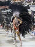 Reina Veronica Bolani Brazil del tambor del carnaval Fotografía de archivo