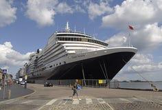 Reina Victoria de la nave de DENMARK_cruise Fotos de archivo libres de regalías