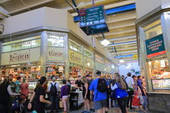 Reina Victoria Market Melbourne Australia Foto de archivo libre de regalías
