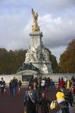 Reina Victoria Memorial Imágenes de archivo libres de regalías