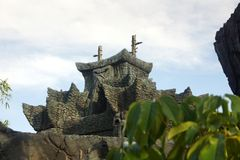 Reinado de Skull Island de Kong Imágenes de archivo libres de regalías