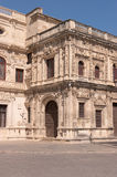 Reinassance facade of the Town Hall (Ayuntamiento) Royalty Free Stock Photography