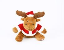 Reindeer. Santa's deer, on white background stock illustration