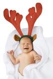Reindeer baby Royalty Free Stock Image