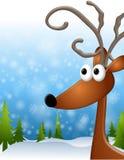 Reindeer Background stock illustration