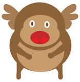 Reindeer cartoon Royalty Free Stock Image
