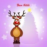 Reindeer at Christmas Stock Photos