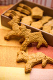 Reindeer cookies Royalty Free Stock Image
