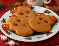 Reindeer Cookies Stock Image