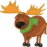 Reindeer Cute Royalty Free Stock Image