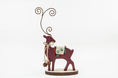 Reindeer Decoration. A reindeer decoration for the Christmas season Royalty Free Stock Images
