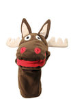 Reindeer Hand Puppet Stock Photo
