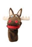 Reindeer Hand Puppet Stock Photo