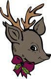 Reindeer Head Royalty Free Stock Photo