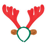 Reindeer horns headband Royalty Free Stock Images