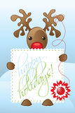 Reindeer Illustration Royalty Free Stock Photo