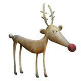 Reindeer illustration Stock Images