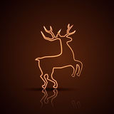 Reindeer illustration Stock Photo
