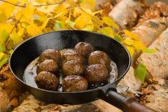 Reindeer meatballs Stock Photography
