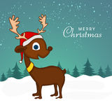 Reindeer for Merry Christmas celebration. Royalty Free Stock Photos