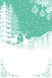 Reindeer in Nature - BlueGreen Stock Photos
