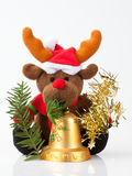 Reindeer from the North. New Year's toy, reindeer and Christmas decorations Stock Photography