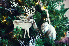 Reindeer Ornament Royalty Free Stock Photos