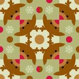 Reindeer pattern Stock Image
