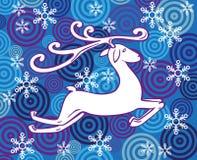 Reindeer rides Stock Image