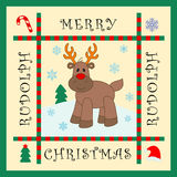 Reindeer Rudolph Royalty Free Stock Photo