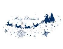 Reindeer, santa claus Stock Photography