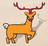 Reindeer standing Stock Photos