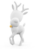 Reindeer with standing pose Royalty Free Stock Photo