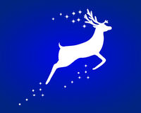 Reindeer with stars Stock Photography