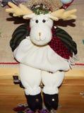 Reindeer statuette Stock Images