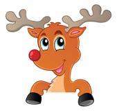 Reindeer theme image 3 Stock Image