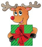 Reindeer theme image 5 Royalty Free Stock Photos