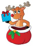 Reindeer theme image 6 royalty free stock images