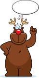 Reindeer Thinking Stock Image