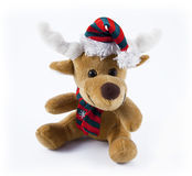 Reindeer toy Stock Images