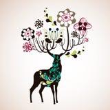 Reindeer wallpaper Stock Photography