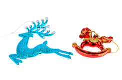 Reindeer  on white background Stock Photography