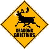 Reindeer_x-ing_04 Stock Foto