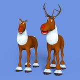 Reindeers Stock Photography