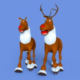 Reindeers Royalty Free Stock Images