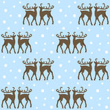 Reindeers in forest Royalty Free Stock Photo
